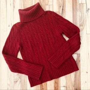 J. Crew cable knit sweater (B3)
